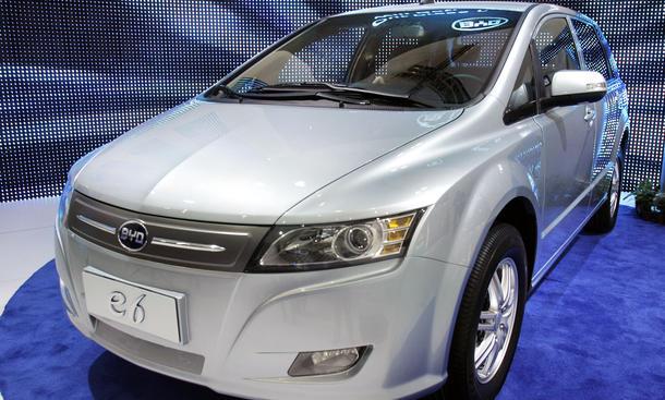 BYD E6 Elektroauto