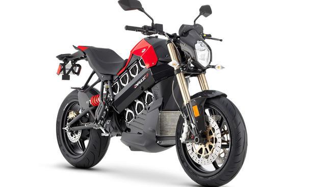 Neues Brammo Empulse Motorrad Bike startet 2013