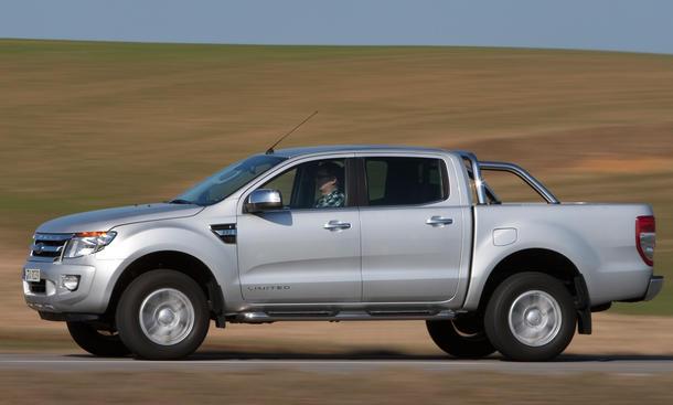 Ford Ranger 2.2 TDCi 4x4 - Lenkung