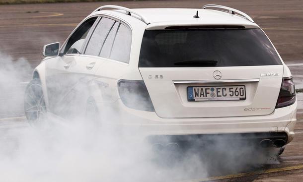 Mercedes C 63 AMG T-Modell Tuning edo competition Power-Kombi