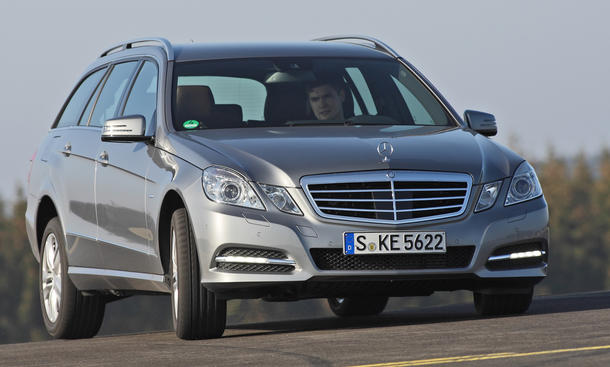 Mercedes E 250 CDI T-Modell 4MATIC BlueEFFICIENCY - Fahrverhalten