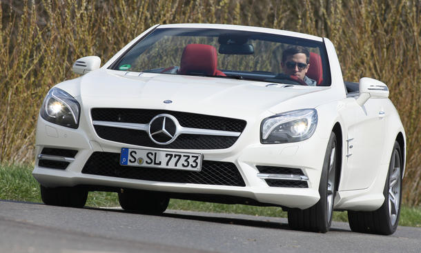 Mercedes SL 500 BlueEFFICIENCY - Handling