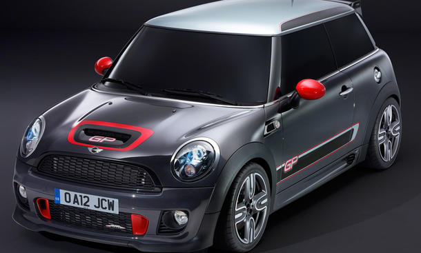 Mini John Cooper Works GP 2012 Kleinwagen Sportwagen Mini United 2012 Le Castellet