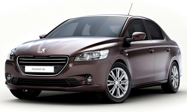 Peugeot 301 Kompakt-Limousine Auto Salon Paris 2012 Nomenklatur Namens-Philosophie