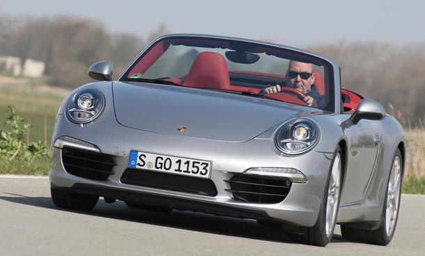 Porsche 911 Carrera S Cabriolet - Windschott