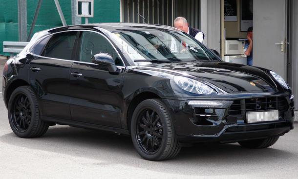 Porsche Macan 2013 Erlkönig Kompakt-SUV Audi Q5 Cajun Cayenne Junior