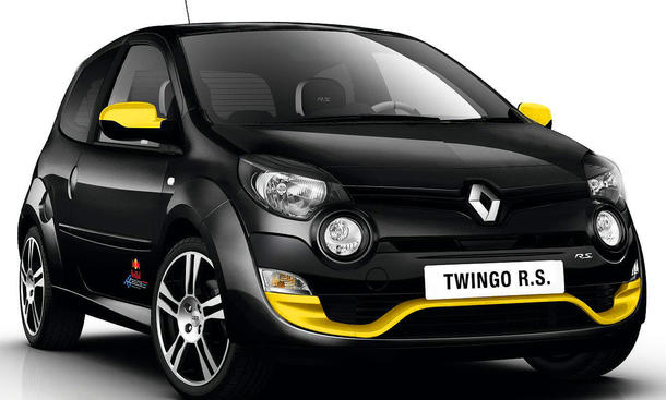 Renault Twingo R.S. Red Bull Racing RB7 Sondermodell 2012