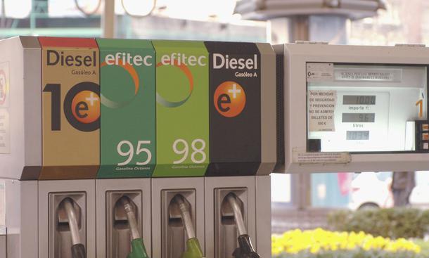 Kraftstoff-Bezeichnungen in Europa: Diesel, Super und Super Plus