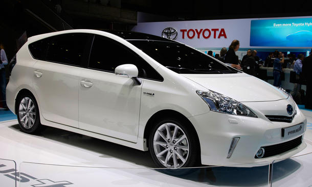 Toyota Prius+ Prius Plus 2012 Preis Hybrid Kompakt-Van