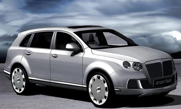 Tresor SUV Bentley gepanzert Armortech VW Touareg Audi Q7 Porsche Cayenne Panzerung