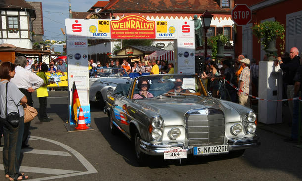 Rückblick: Internationale Weinrallye 2012