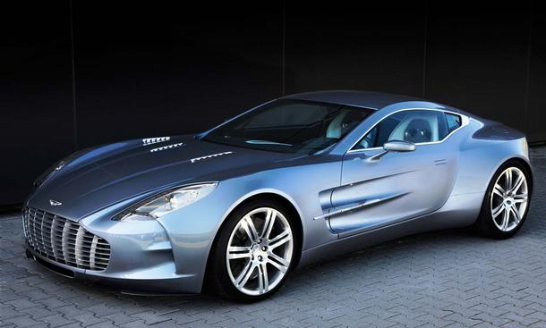 Aston Martin One-77 2012 Front