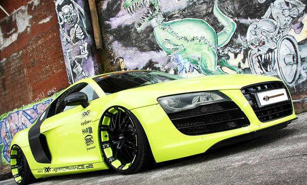 Audi R8 5.2 FSI quattro von XXX Performance Front