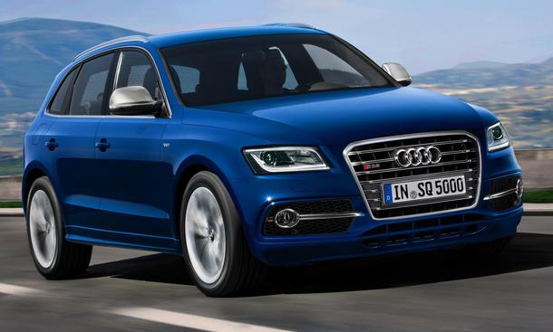 Audi SQ5 TDI 2012 2013 Biturbo-Diesel Q5 Facelift Kompakt-SUV Sport