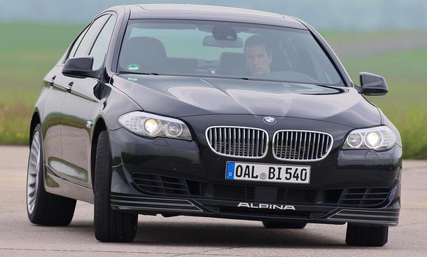 BMW Alpina B5 Biturbo 2012 Test 540 PS Fahrbericht