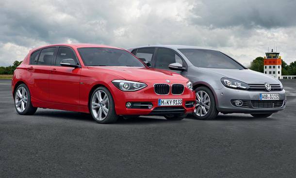 BMW 118d und VW Golf 2.0 TDI