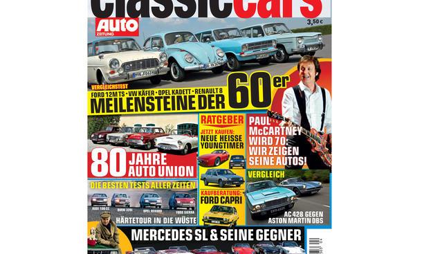 CLASSIC CARS AUTOZEITUNG 4/2012 - Titelstories