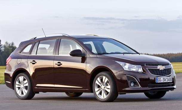 CHEVROLET CRUZE S.W. LESER-TEST-AKTION