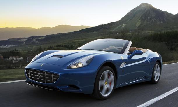 Ferrari California Facelift 2012 Preise Starten Ab 180 600 Euro