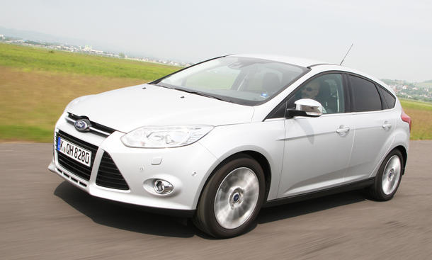 Ford Focus 1.0 EcoBoost Front