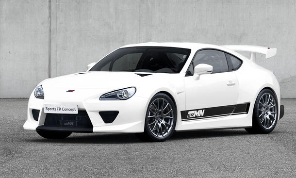 Auto Tuning  Racing Parts on Gazoo Racing Toyota Gt 86 Goodwood Festival