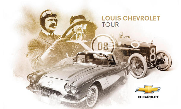 Louis Chevrolet Tour 2012 Eifel Plakat