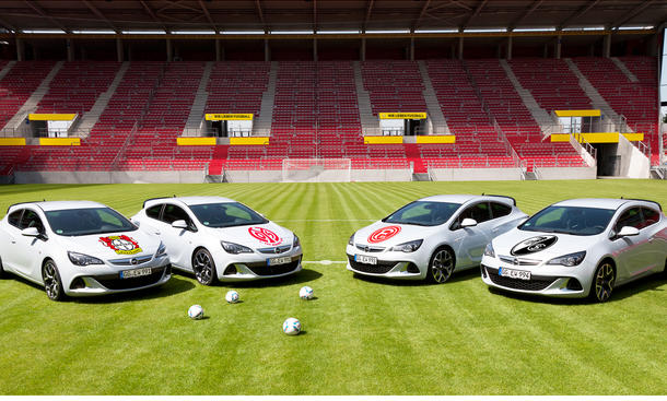 Opel Sponsoring Fußball Bundesliga Saison 2012/2013