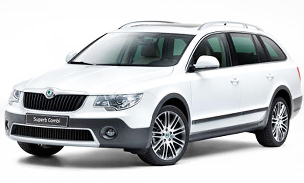 Skoda Superb Combi Outdoor Front schräg