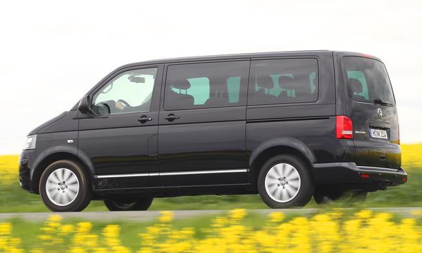 VW T5 Multivan Test TSI 2.0 Benziner 7 Sitze DSG
