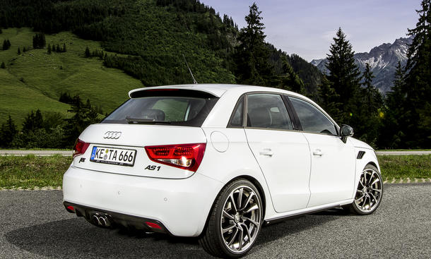 Abt AS1 Audi A1 Sportback Tuning Heck