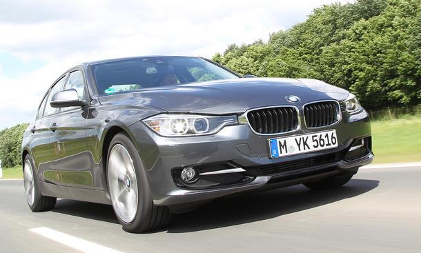 BMW 318d - Verbrauch