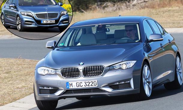 Neuheiten 5er BMW Mercedes E-Klasse Vergleich 1280