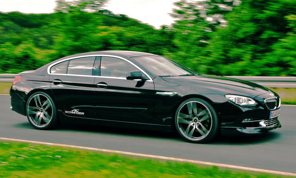 luxus tuning bmw 6er gran coup by ac schnitzer