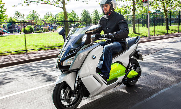 BMW C evolution: Elektro-Scooter geht 2014 in Serienproduktion