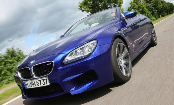 BMW M6 Cabrio 2012 im Test Front