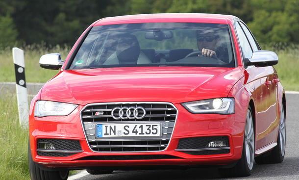 Bilder Audi S4 2012 Vergleichstest