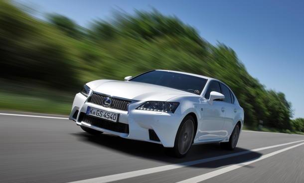Bilder Lexus GS 450h Fahrbericht Preis
