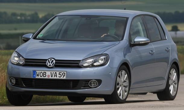Bilder VW Golf 1.2 TSI 2012 Vergleich