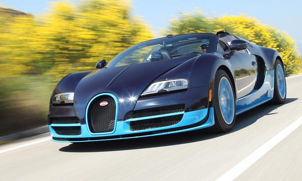 Bugatti Veyron 16.4 Grand Sport Vitesse - Karosserie