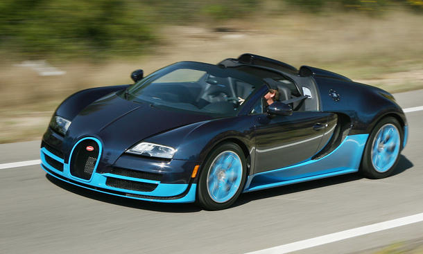 fahrbericht bugatti veyron 16 4 grand sport vitesse 2012 bild 6. Black Bedroom Furniture Sets. Home Design Ideas