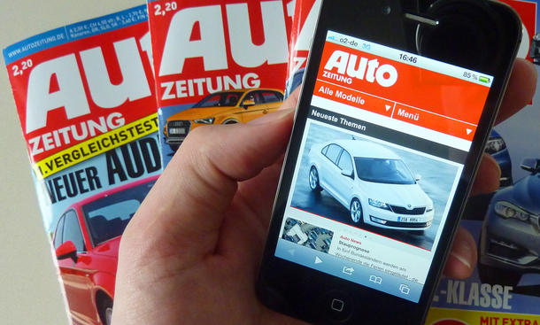 AUTO ZEITUNG Mobil für iPhone, iPad und Android-Smartphones