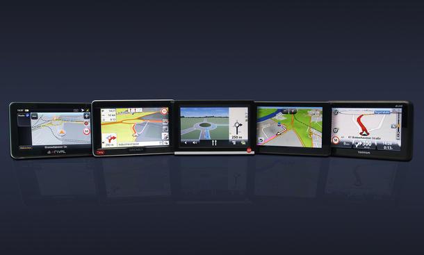 Navigationssysteme Ratgeber 12 2012 Vergleichstest