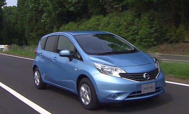 Nissan Note 2013 Familien Kompakt Van Preis Video