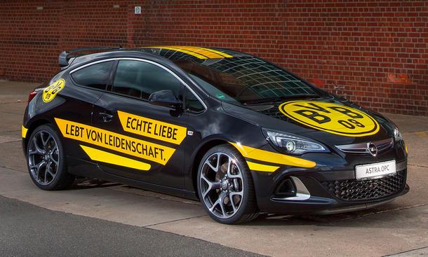 Opel Borussia Dortmund Jürgen Klopp Werbung Fußball Werbe-Botschafter