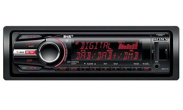 Sony CDX-DAB700 U Multimedia-Gerät zum Nachrüsten