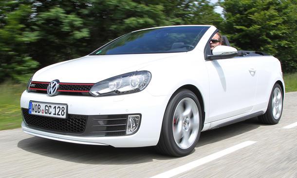 VW Golf GTI Cabriolet - Handling