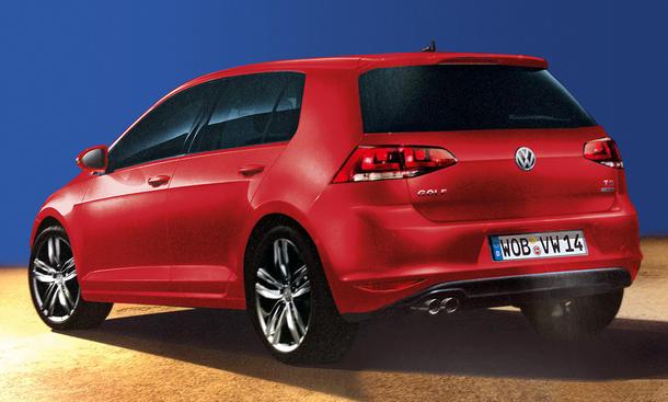 VW Golf VII Vergleichstest Kompaktklasse Fond