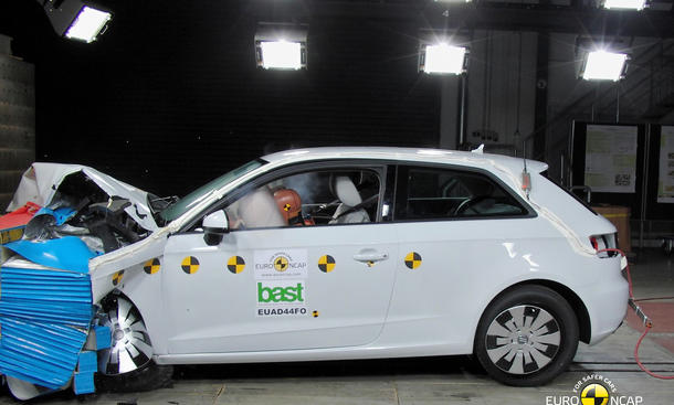 Euro NCAP Crashtest 2012: Audi A3, Volvo V40, Ford B-Max & Co.