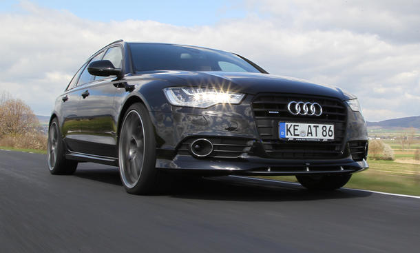 Audi A6 Tuning Abt AS6 Avant 3.0 TDI 2012 Front