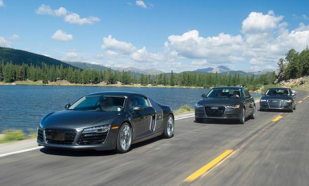 Reportage: Qualitätssicherung bei Audi - Abnahmefahrt